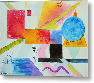 Kandinsky Dreaming Metal Print