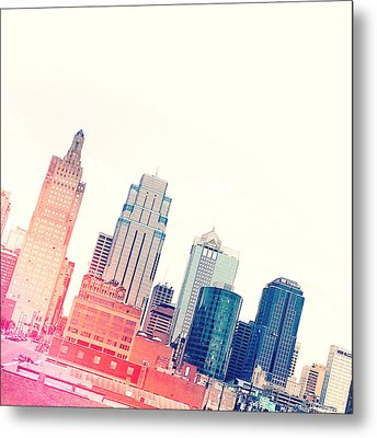 Kansas City #4 Metal Print by Stacia Blase