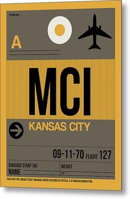 Kansas City Airport Poster 1 Metal Print
