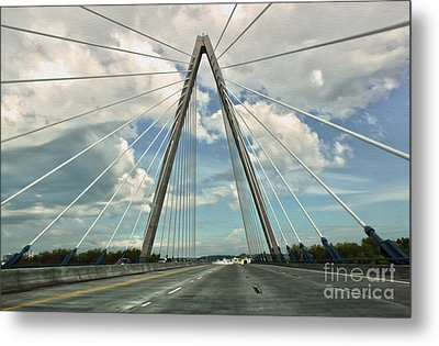 Kansas City Bridge - 01 Metal Print by Gregory Dyer