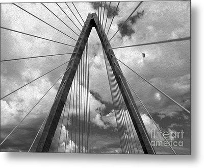 Kansas City Bridge - 03 Metal Print by Gregory Dyer