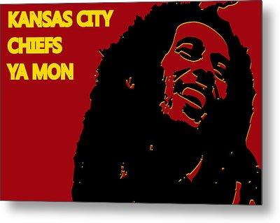 Kansas City Chiefs Ya Mon Metal Print by Joe Hamilton