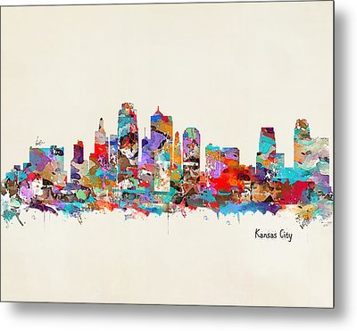 Kansas City Missouri Metal Print by Bri B