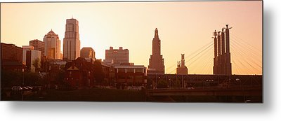 Kansas City, Missouri, Usa Metal Print by Panoramic Images