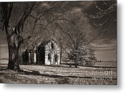 Kansas Farm House I Metal Print