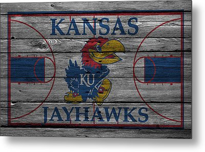 Kansas Jayhawks Metal Print by Joe Hamilton