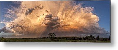 Kansas Storm Cloud Metal Print
