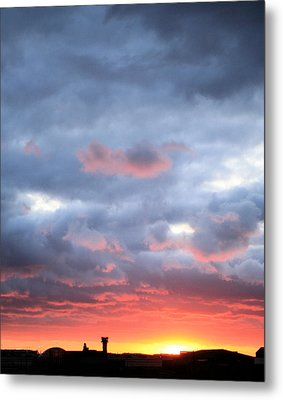 Kansas Sunset Metal Print by JC Findley