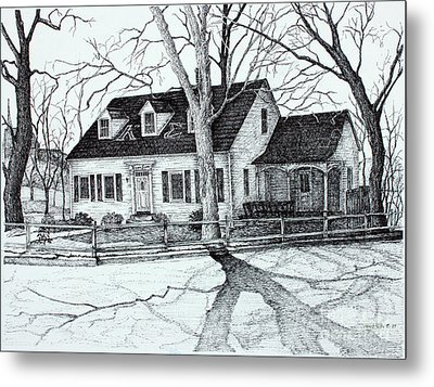 Kappa Sigma House Apsu Metal Print by Janet Felts
