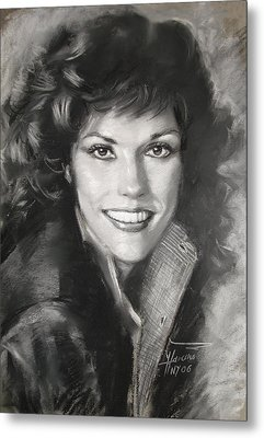 Karen Carpenter Metal Print by Viola El