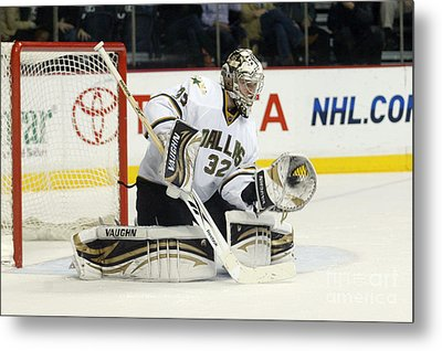 Metal Print featuring the photograph Kari Lehtonen by Don Olea