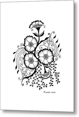 Karla's Flowers Metal Print