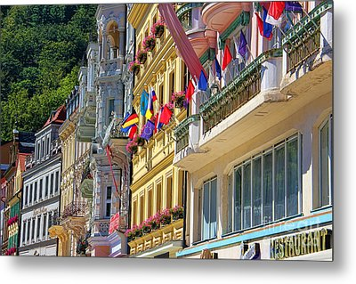 Karlovy Vary Metal Print by Mariola Bitner