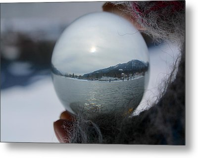 Kaslo Winter Metal Print by Cathie Douglas