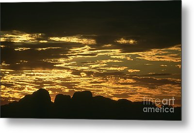 Metal Print featuring the photograph Kata Tjuta Australia 3 by Rudi Prott