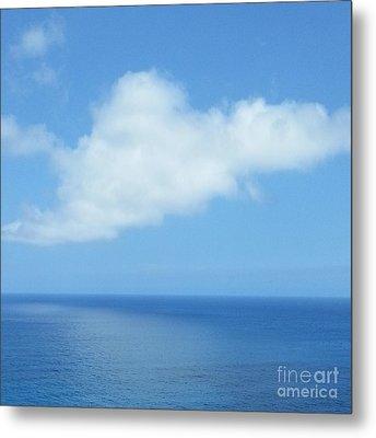 Metal Print featuring the photograph Kauai Blue by Joseph J Stevens