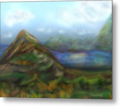 Kauai Metal Print by Christine Fournier