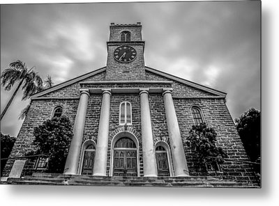 Metal Print featuring the photograph Kawaiaho Church  by Robert  Aycock