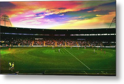 Kc Stadium In Kingston Upon Hull England Metal Print by Chris Drake