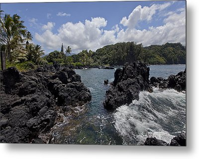 Keanae Metal Print by James Roemmling