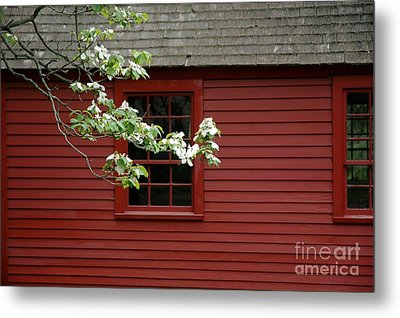 Metal Print featuring the photograph Keeney School House by Christiane Hellner-OBrien