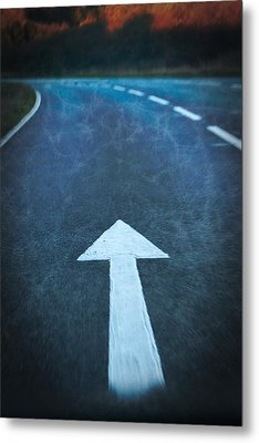 Keep Going Forward Metal Print by Paul Bucknall