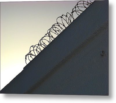 Keep Out Metal Print