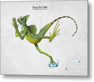 Keep The Faith Metal Print by Rob Snow