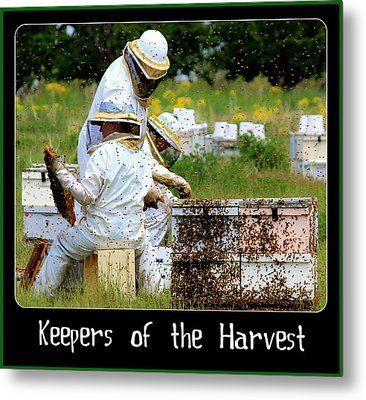 Keepers Of The Harvest Metal Print