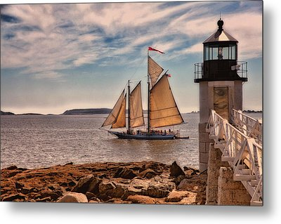 Keeping Vessels Safe Metal Print