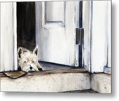 Keeping Watch Metal Print by Michelle Sheppard