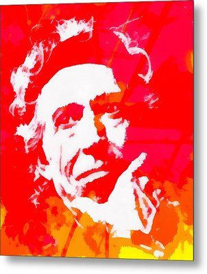 Keith Richards Metal Print by Dan Sproul