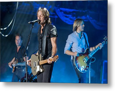 Keith Urban 2 Metal Print by Mike Burgquist
