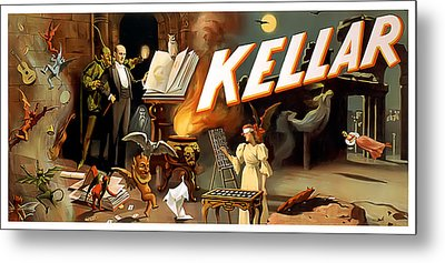 Kellar Metal Print by Terry Reynoldson