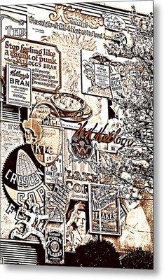 Kellogg's Wall Metal Print