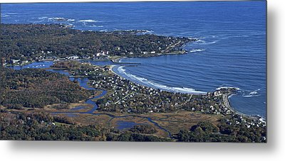 Kennebunk, Maine Metal Print by Dave Cleaveland