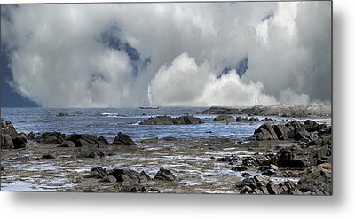 Kennebunkport Seascape Metal Print
