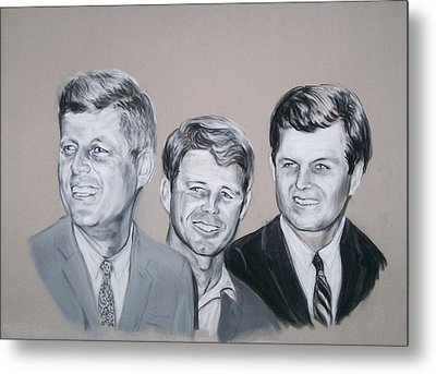 Kennedy Brothers Metal Print by Martha Suhocke