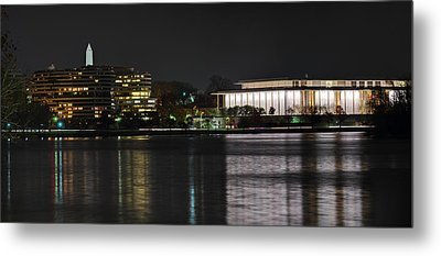Kennery Center For The Performing Arts - Washington Dc - 01131 Metal Print by DC Photographer