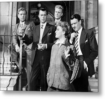 Kenneth More In Doctor In The House  Metal Print