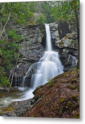 Kent Falls State Park Ct Waterfall Metal Print
