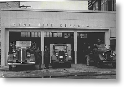 Kent Fire Department 1979 Metal Print by Retro Images Archive