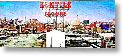 Kentile Floors Metal Print