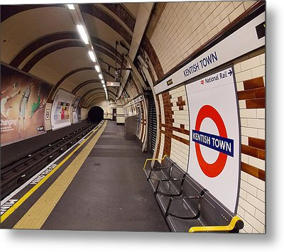 Kentish Town Tube Station Metal Print by Nicky Jameson