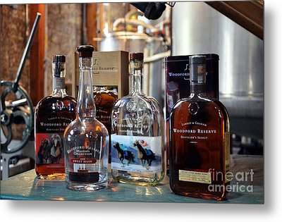 Kentucky Bourbon Metal Print by Mel Steinhauer