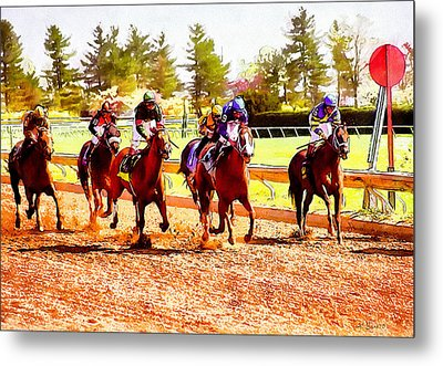 Kentucky Derby Metal Print by Kai Saarto