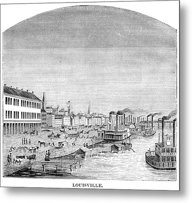 Kentucky Louisville, 1870 Metal Print by Granger