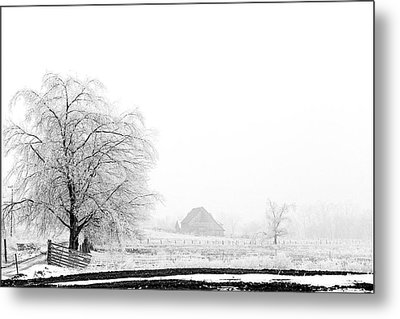 Kentucky Winter  Metal Print by Wendell Thompson