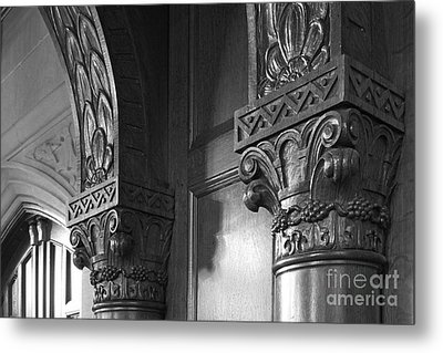 Kenyon College Great Hall  Metal Print by University Icons