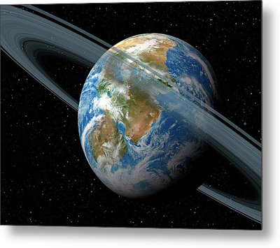 Kepler-62f Metal Print